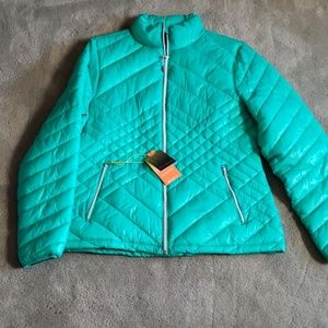NWT Tek Gear Sz L green jacket
